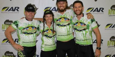 Kinetic Full Moon 120km Adventure Race team